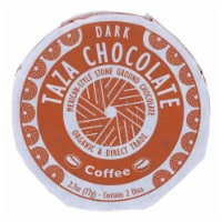 Taza Chocolate Organic Chocolate Mexicano Discs - 55 Percent Dark - Coffee - 2.7oz-Case of 12 - Case of 12 - 2.7 OZ each