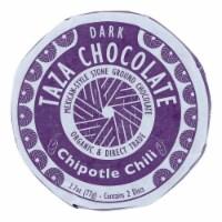 Taza Chocolate Organic Mexicano Discs - 70 Percent Dark - Chipotle Chili - 2.7 oz - 12Case - Case of 12 - 2.7 OZ each
