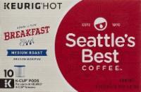 Seattle's Best Breakfast Blend Medium Roast Coffee K-Cup Pods - 60 ct