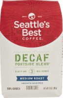 Seattle's Best Coffee  Ground Coffee  Medium Roast   Decaf Portside Blend
