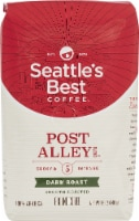 Seattle's Best Coffee  Ground Coffee  Dark Roast   Post Alley Blend - 12 oz Each / Pack of 6