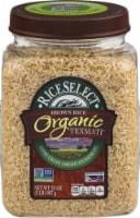 RiceSelect Organic Texmati Long Grain Brown Rice (4 Pack)