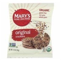 Mary's Gone Crackers Original Crackers  - Case of 20 - 1.25 OZ - Case of 20 - 1.25 OZ each