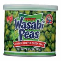 Hapi Green Peas - Hot Wasabi - Case of 24 - 4.9 oz. - Case of 24 - 4.9 OZ each