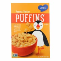 Barbara's Bakery - Puffins Cereal - Peanut Butter - Case of 12 - 11 oz. - 11 OZ