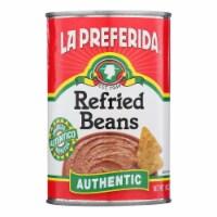 La Preferida, Refried Beans - Case of 24 - 16 OZ - Case of 24 - 16 OZ each