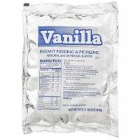 Chefs Companion Instant Vanilla Pudding Mix, 24 Ounce -- 12 per case. - 12-24 OUNCE