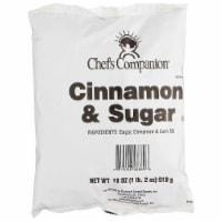Chefs Companion Cinnamon Sugar, 18 Ounce Pouch -- 4 per case. - 4-18 OUNCE