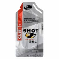 Clif Bar Clif Shot - Organic Double Expresso - Case of 24 - 1.2 oz