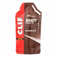 Clif Bar Clif Shot - Chocolate - Case of 24 - 1.2 oz - Case of 24 - 1.2 FZ each