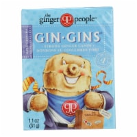 Ginger People Gingins Super Boost Candy - Case of 24 - 1.1 oz - Case of 24 - 1.1 OZ each