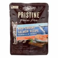 Castor & Pollux Wet Cat Food Pristine Grain-Free Wild-Caught Salmon Recipe -Case of 24 - 3 OZ - Case of 24 - 3 OZ each