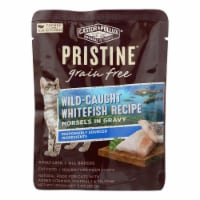 Castor and Pollux Cat - Wild Whitefish Morsel - Grain Free - Case of 24 - 3 oz - Case of 24 - 3 OZ each