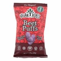 Vegan Rob's Beet Puffs  - Case of 24 - 1.25 OZ - Case of 24 - 1.25 OZ each