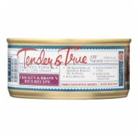 Tender & True Dog Food Chicken And Brown Rice - Case of 24 - 5.5 OZ - Case of 24 - 5.5 OZ each