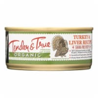 Tender & True Cat Food, Turkey And Liver - Case of 24 - 5.5 OZ - Case of 24 - 5.5 OZ each