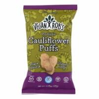 Vegan Rob's - Puffs Cauliflower Probtc - Case of 24 - 1.25 OZ - Case of 24 - 1.25 OZ each