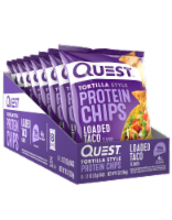 Quest Loaded Taco Tortilla Style Protein Chips