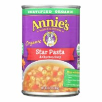 Annie's Homegrown - Soup - Star Pasta and Chicken Soup - Case of 8 - 14 oz. - Case of 8 - 14 OZ each