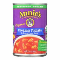 Annie's Homegrown - Soup Creamy Tomato and Bunny Pasta Soup - Case of 8 - 14.3 oz. - Case of 8 - 14.3 OZ each