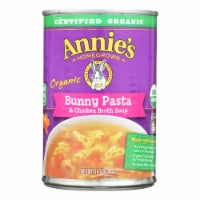 Annie's Homegrown - Soup - Bunny Pasta and Chicken Broth Soup - Case of 8 - 14 oz. - Case of 8 - 14 OZ each