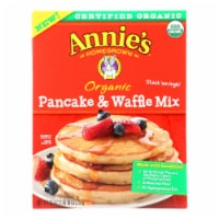 Make Annie's Organic Pancake & Waffle Mix And  - Case of 8 - 26 OZ - Case of 8 - 26 OZ each