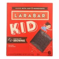 Larabar - Bar Kids Chocolate Brownie - Case of 8-6/.96 oz