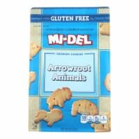 Midel Cookies - Arrowroot Animal - Case of 8 - 8 oz - Case of 8 - 8 OZ each