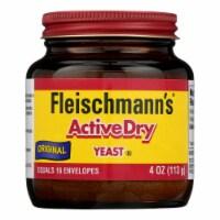Fleischmann's Classic - Yeast Original Active Dry Jar - Case of 8-4 OZ - Case of 8 - 4 OZ each