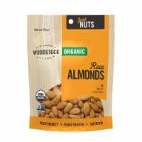 Woodstock Organic Raw Almonds - Case of 8 - 7.5 OZ - Case of 8 - 7.5 OZ each