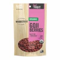 Woodstock - Organic Goji Berries - Case of 8 - 4 oz. - Case of 8 - 4 OZ each