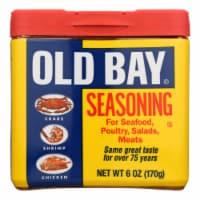 Old Bay - Seasoning - Original - Case of 8 - 6 oz - Case of 8 - 6 OZ each