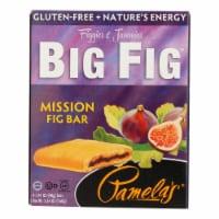 Pamela's Products - Gluten-Free Big Fig Bar - Mission Fig - Case of 8 - 5.64 oz. - Case of 8 - 5.64 OZ each