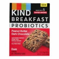 Kind - Breakfast Br Prob Pb Dark Chocolate - Case of 8 - 4/1.76OZ - Case of 8 - 4/1.76OZ each