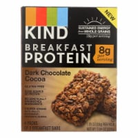 Kind Breakfast Protein Bars - Dark Chocolate Cocoa - Case of 8 - 4/1.76oz - Case of 8 - 4/1.76OZ each