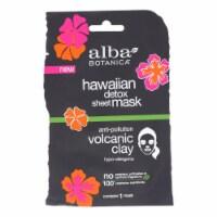 Alba Botanica - Hawaiian Sheet Mask - Detox - Case of 8 - 1 count - Case of 8 - 1 CT each