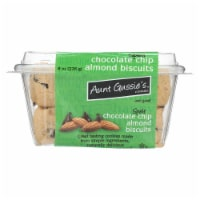 Aunt Gussie's Biscuits - Chocolate Chip Almond - Case of 8 - 8 oz. - Case of 8 - 8 OZ each