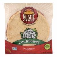 Rustic Crust - Pizza Crust Cauliflower - Case of 8 - 9 oz. - Case of 8 - 9 OZ each