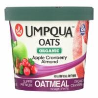 Umpqua Oats - Oats Apple Crnbry Cup - Case of 8-2.47 OZ - Case of 8 - 2.47 OZ each