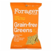 Forager Project - Veg Chips Grainfree Green - Case of 8-5 OZ - Case of 8 - 5 OZ each