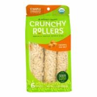 Crunchy Rollers - RollRice Carmel Sea Salt - Case of 8-2.6 OZ - Case of 8 - 2.6 OZ each