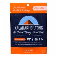 Kalahari Biltong Air-Dried Sliced Beef - Case of 8 - 2 OZ - Case of 8 - 2 OZ each