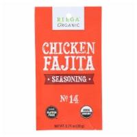Riega Organic Chicken Fajita Seasoning Mix  - Case of 8 - .71 OZ - Case of 8 - .71 OZ each