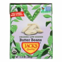 Jack's Quality Butter Beans - Case of 8 - 13.4 OZ - Case of 8 - 13.4 OZ each