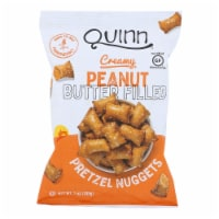 Quinn Popcorn - Pretzels Peanut Butter Nuggets - Case of 8 - 7 OZ