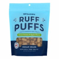 Buckley Pet Ruff Puffs Sweet Potato And Apple  - Case of 8 - 4 OZ - Case of 8 - 4 OZ each