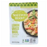 Saffron Road Simmer Sauce - Lemongrass Basil - Case of 8 - 7 Fl oz. - Case of 8 - 7 oz each