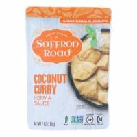 Saffron Road Korma Sauce - Coconut Curry - Case of 8 - 7 oz. - Case of 8 - 7 OZ each