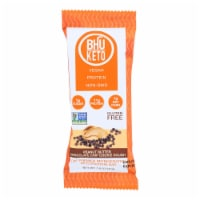 Bhu Foods - Keto Bar Peanut Butter Chocolate Chip Cookie Dough - Case of 8 - 1.6 OZ - Case of 8 - 1.6 OZ each