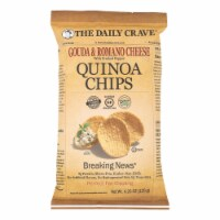 The Daily Crave - Quin Chips Gouda Romn Pepper - Case of 8 - 4.25 OZ - Case of 8 - 4.25 OZ each